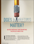 Does Marketing Matter